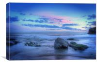 Dreamy Welsh Gower Sunset, Canvas Print