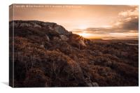 Sunrise on Anglesey, Canvas Print