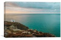 Ellins Tower Anglesey, Canvas Print