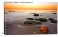 Old Hunstanton , Canvas Print