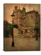 The Old Gatehouse, Bristol City. , Canvas Print