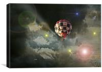 Up Up and Away., Canvas Print