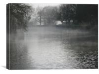 Mist over Holy Waters, Canvas Print