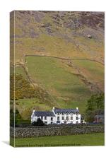 Wasdale Head Inn, Canvas Print