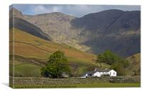 Wasdale Head, Canvas Print