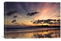 Embleton Bay Sunrise, Canvas Print
