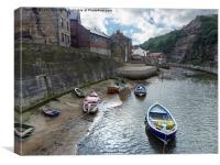Roxby Beck North Yorkshire, Canvas Print