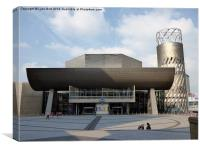 The Lowry, Canvas Print