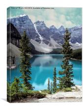 Moraine Lake, Canvas Print