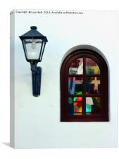 The Window and the Lantern, Canvas Print