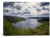 The Kyles of Bute, Canvas Print