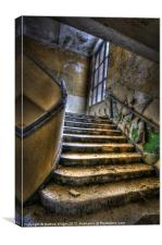 Going up and wide, Canvas Print
