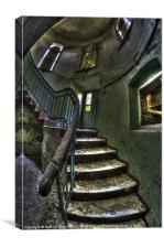 Small stairs, Canvas Print