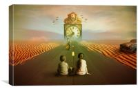Time to grow up, Canvas Print