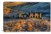 Cwmorthin Terrace, Canvas Print