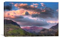 Snowdon - West face, Canvas Print