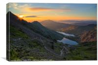 From the Pyg track, Canvas Print