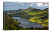 Tal y Llyn - North Wales, Canvas Print