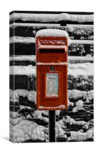 The postbox, Canvas Print