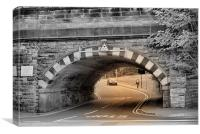 Bridge at Port Sunlight, Canvas Print