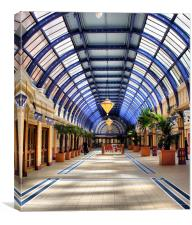 Winter Gardens, Canvas Print