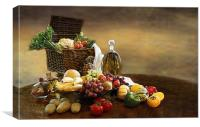 Fruit and Vegetables, Canvas Print