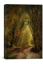 Priestly Clough, Canvas Print