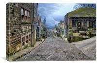 Haworth Yorkshire  UK., Canvas Print