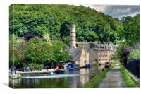 Hebden Bridge Yorkshire, Canvas Print