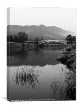 The River Wye, Canvas Print