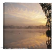 Virginia Water Lake, Canvas Print