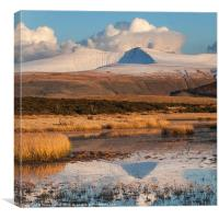 The Brecon Beacons (Bannau Brycheiniog), Canvas Print