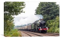 The Welsh Marches Express, Canvas Print