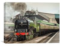 The Torbay Express, Canvas Print