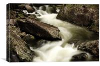 Softly Flowing, Canvas Print