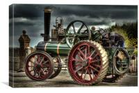 Traction Engine PT1916, Canvas Print