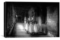 Durham Cathedral Choiristers, Canvas Print