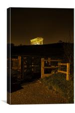 Penshaw Monument, Canvas Print