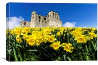 Warkworth Castle, Canvas Print