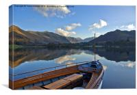 Sailing on Ullswater, Canvas Print