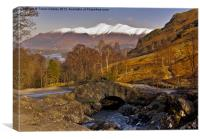 Ashness Bridge - Lake District, Canvas Print