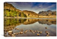 Reflections Blea Tarn, Canvas Print