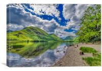 Brothers Water Lake District, Canvas Print