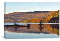 Calm Day on Ullswater, Canvas Print