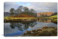 The Brathay, Elterwater, Canvas Print