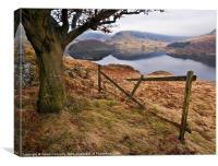 Haweswater Views, Canvas Print
