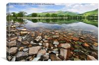 Beautiful Buttermere., Canvas Print