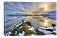 Sunlight At Stickle Tarn, Canvas Print