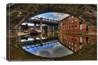 Castlefield Arches, Canvas Print