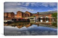 Castlefield Basin, Canvas Print